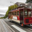 Stock Photo: Cable Car in SFrancisco