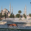 Fountain near Blue Mosque in Istanbul — Stock Photo