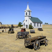 Ghost town in south Dakota — Stock Photo