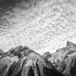 Beautiful Cloudscape over Mountains — Stock Photo #39684673