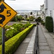 Stock Photo: Lombard street, San-Francisco