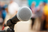 Professional microphone — Stock Photo