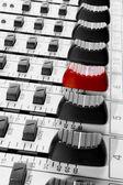 Mixer control — Stock Photo
