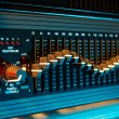 Audio equalizer - Stock Photo
