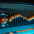 Audio equalizer — Stock Photo