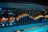 Audio equalizer — Stock Photo