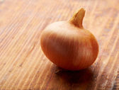 Gold onion — Stockfoto