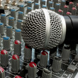 Mixer and microphone — Stock Photo #18600767