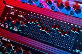 Audio-equalizer — Stockfoto