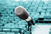 Professional microphone — Stock Photo