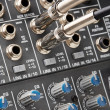 Audio connectors - Stockfoto