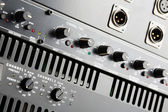 Power amplifier and equalizer — Stock Photo