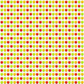 Seamless apples pattern — Stock Photo