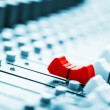 Sound mixer — Stock Photo