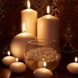 Flaming candles — Stock Photo #27867949