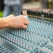 Foto de Stock  : Sound mixer