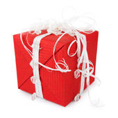 Red Gift Box — Foto de Stock