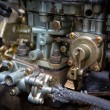 Stock Photo: Dirty carburetor