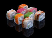 Sushi Set Allsorts — Stock Photo