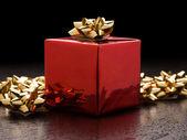 De gift van kerstmis — Stockfoto