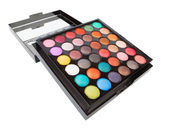 Eyeshadow makeup palette — Stock Photo