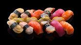 Nigiri sushi set — Stock Photo