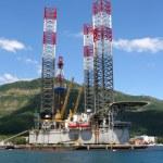 Oil platform. — Stock Photo