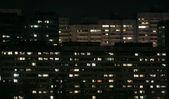 Ночной город — Стоковое фото