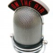 Retro microphone — Stock Photo #15457061
