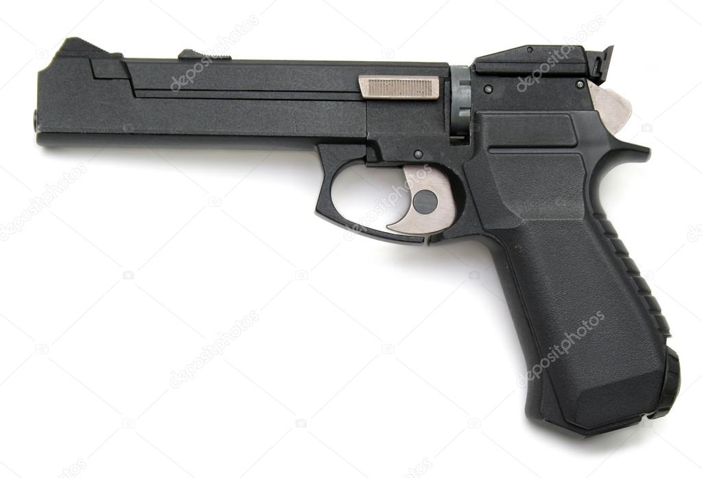 gun white background - photo #15