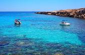 Ayia napa, kyprπαραλία νησί — Stock fotografie