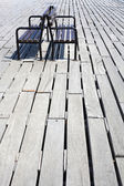 Two benches — Stock Photo