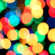 Blurred christmas background — Stock Photo