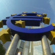 Time lapse of European Central Bank ECB — Stock Video