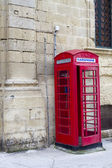 Phone box — Stock Photo