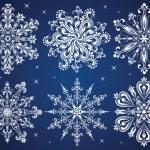 Snowflakes. — Stock Vector #14057529