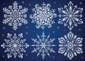 Snowflakes. — Stock Vector