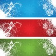 Christmas banners. — Stock Vector #14061270