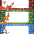 Christmas banner. — Stock Vector
