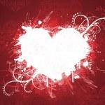 Grunge valentine's day banner. — Stock Vector