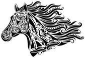Abstract horse. — Stock Vector