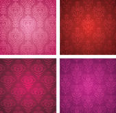 Valentine's day wallpapers. — Vector de stock