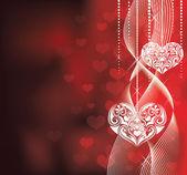 Hjärtan. — Stockvektor