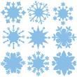 Snowflakes. — Stock Vector
