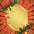 Stock Vector: Cristmas background.