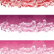 Stock Vector: Valentine's day banners.