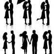 Collection of couples. — Stock Vector #18674067