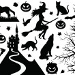 Stock Vector: Halloween collection.