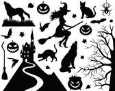 Halloween collection. — Stock Vector