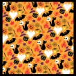 Seamless pattern for Halloween. — Stock Vector #28552491
